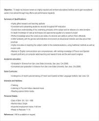 Sample Resume For Lecturer by 21 Fresher Resume Templates Free U0026 Premium Templates