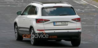 2018 skoda yeti karoq spied with unique body panels photos 1 of 3