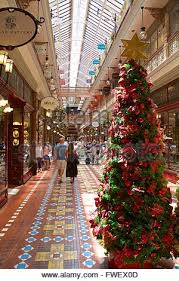 Christmas Decorations Shopping Centres Australia by Inside The Strand Shopping Centre In Sydney Australia Stock Photo