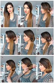 step to step hairstyles for medium hairs 15 simple hairstyle ideas ready for less than 2 minutes and looks