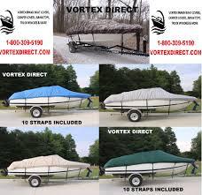 19 foot vortex fishing ski runabout vhull boat cover 1800 309 5190