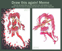 Meme Suite - cure melody suite precure draw this again meme by josilix on