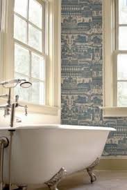 Wallpaper Bathroom Ideas 46 Best Bathroom Wallpaper Images On Pinterest Bathroom