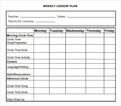 high lesson plan template efficiencyexperts us