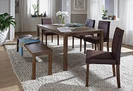 Esszimmer Bank Antik Sam 6tlg Tischgruppe 140 Cm Nussbaumfarbig Antik Look