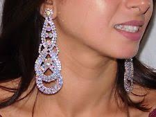 s clip on earrings clip on chandelier fashion earrings ebay