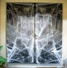 Outdoor Halloween Decorations Spiders by Halloween Decorations Spider Web Quick And Easy Halloween