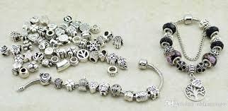 diy bracelet pandora beads images 2018 only 10 mixed designs for summer diy bracelet beads european jpg