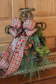 Christmas Angel Table Decorations by 181 Best Christmas In Plaid Images On Pinterest Tartan Christmas