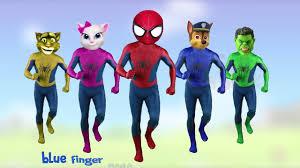 p2 cake pop bottles spiderman paw patrol tom angela finger family