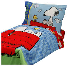 Snoopy Bed Set How Large Is The Toddler Size Snoopy Comforter