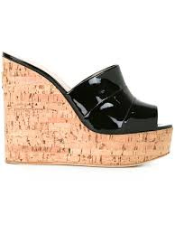 giuseppe zanotti black flat sandals giuseppe zanotti design cork