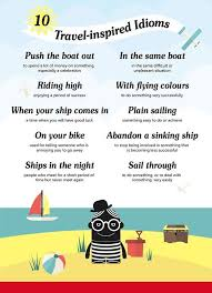 10 important travel based idioms phrases in englishgra flickr