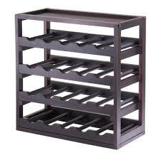 red barrel studio thorndike 20 bottle floor wine rack u0026 reviews