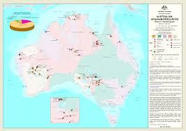 aus maps australia australian mineral resources market index