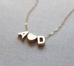 initial necklaces for 598 best initial necklace images on initials a letter
