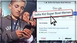 Justin Timberlake Meme - super bowl selfie kid justin timberlake memes youtube