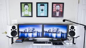 100 ultimate desk setup ultimate tech bedroom desk tour