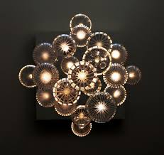 interior mesmerizing crystal glass orb chandelier for home module