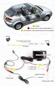 nissan altima 2013 led lights led car rear view camera reverse backup night vision for nissan