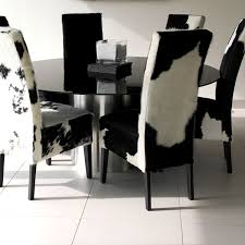 animal print dining room chairs magnificent cowhide print dining chairs chair design ideas on cow