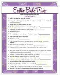 easter facts trivia easter bible trivia who knows their facts and who needs to pull