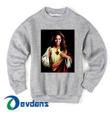 beyonce jesus cheap sweatshirt cheap sweater unisex adults