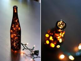 Upcycled Wine Bottles - ideas for reusing glass bottles and jars