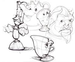disney cartoon characters draw lineweights 476263 coloring pages