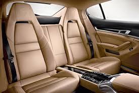 Porsche Panamera Interior - porsche panamera platinium edition rear seats nickcars com