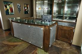 Reception Desk Wood Metal Reception Desk Metal Reception Desk Industrial For Sale