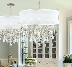 crystal l shade chandelier drum shade chandeliers shades of light with regard to chandelier