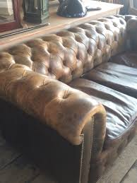 vintage chesterfield sofa in furniture