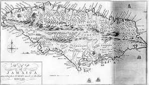 Map Jamaica 1670 Map Of Jamaica