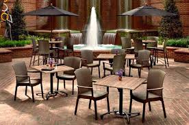 Restaurant Patio Chairs Classic Collection Commercial Outdoor Patio Furniture