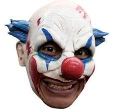 killer clown mask evil grin killer clown mask 11in x 13in party city