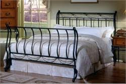 Metal Sleigh Bed Buy Camelot Sleigh Bed Metal Sleigh Bed Size Hillsdale