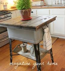 repurposed kitchen island 12 amazing repurposed diy kitchen island ideas