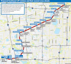 Map Of Twin Cities Metro by All Aboard A Virtual Tour Of Southwest Lrt Route U2013 Finance U0026 Commerce