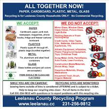 Waste Management Christmas Tree Pickup by Solid Waste Council Leelanau County
