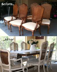Painted Dining Table by French Cane Chair Update Tutorial Painted With Annie Sloan Chalk