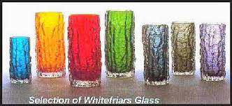 Whitefriars Glass Vase Whitefriars Collectibles Coach
