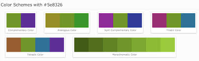Green Color Scheme by In Html How To Find The Similar Shade For Red Color Of A Green