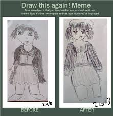 Old Fashioned Memes - draw this again meme old fashioned manga girl by fran48 on deviantart