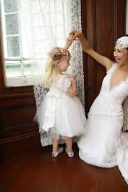 wedding dress for less adorable ivory cap sleeve lace and tulle flower girl dress for