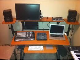 2 level computer desk 2 level studio workstation desk north nanaimo nanaimo