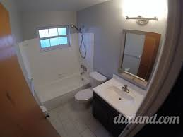5 or 6 day bathroom remodel part 2 paint dadand com dadand com