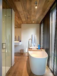 bathroom bath shower wood floor u0026 ceiling home addition