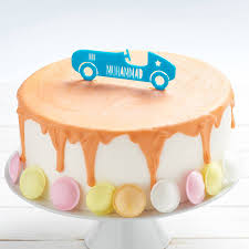 car cake toppers personalised car birthday cake topper by owl otter