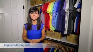 3 design tips for small closets organized living youtube